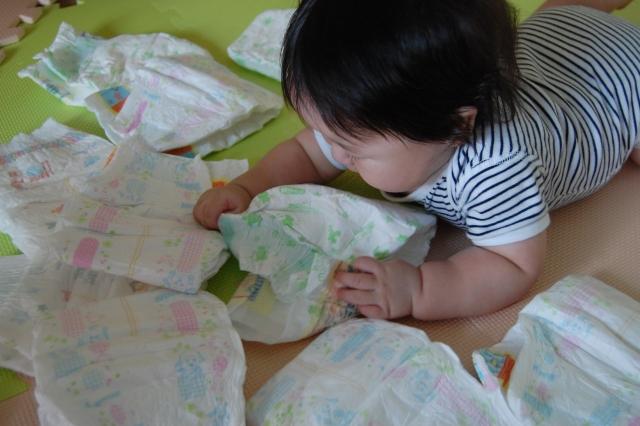 赤ちゃんのおむつを替える月齢の目安