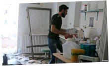 Авиаудары в Алеппо