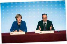 Меркель и Олланд призвали Путина