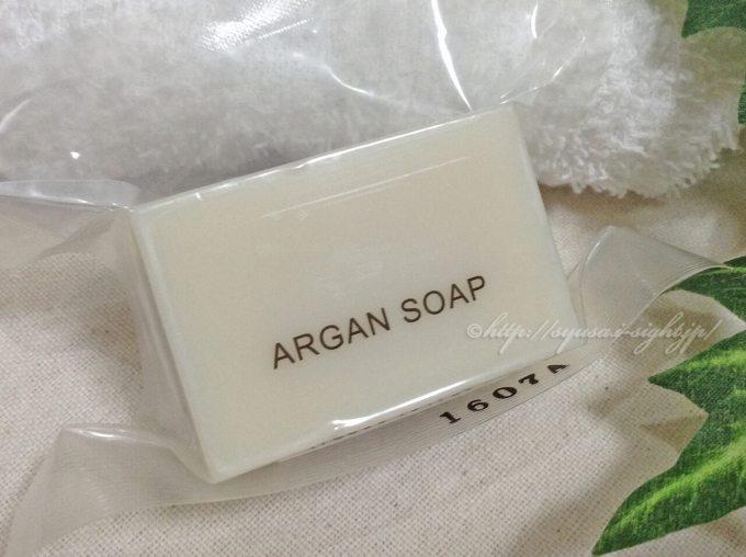 ナイアードのアルガン石鹸