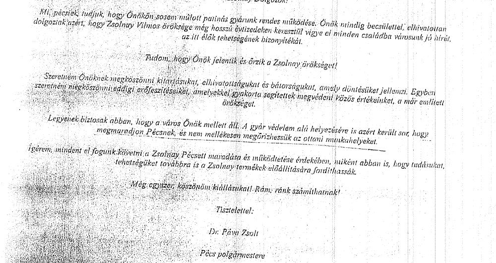 bff7a315cf2f RENDKÍVÜLI HÍR – Jogerős ítélet: fizethetnek, mert jogellenesen mondtak fel a  dolgozók a Zsolnay-puccs idején