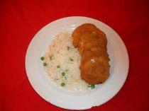Rántott tök rizi-bizivel - Csülök étterem