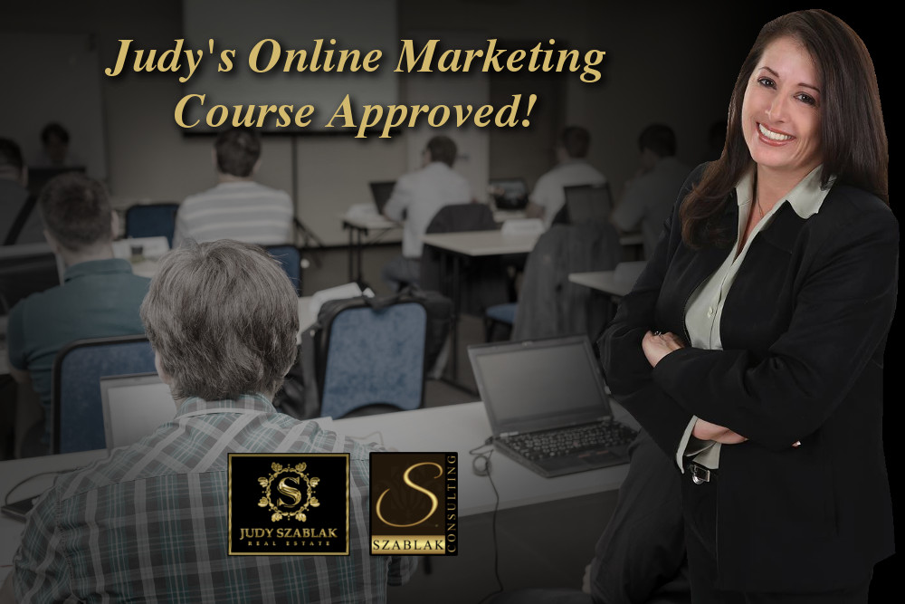 Realtor Judy Szablak's New Online Marketing Course Approved by CT Officials