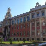 régi egyetemi épület