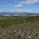 Reykjavik látkép
