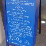 Barcelona-menu
