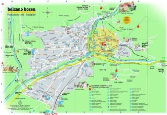 Bolzano térképe