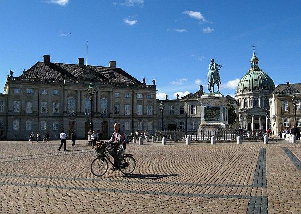 Koppenhága látnivaló, főtér