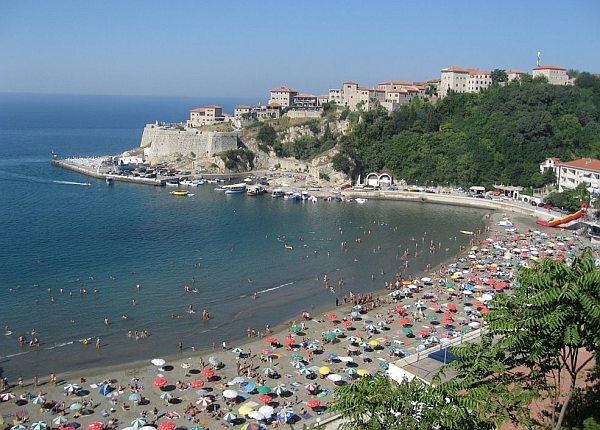 Ulcinj Montenegro tengerpartja