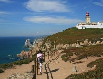 Cabo da Roca: ócean part szép sétaúttal