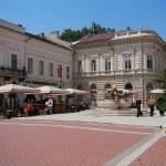 Szeged belvárosi hotel és régi épületek