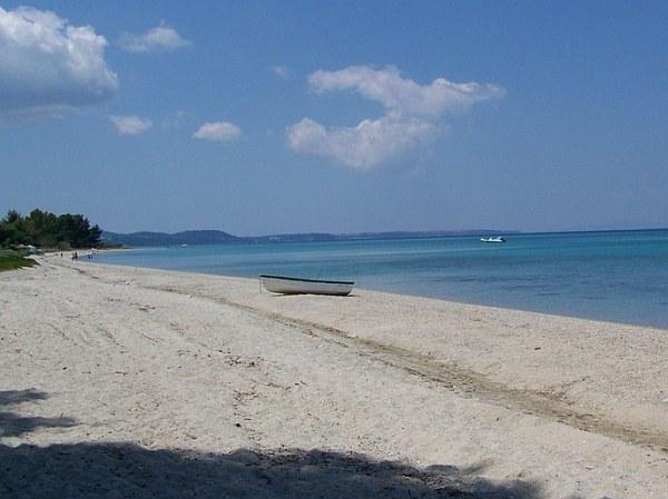 Chanioti Görögország nyaraló tengerpartja