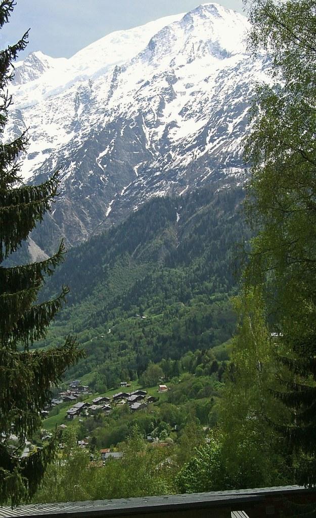 Les-Houches hegyek