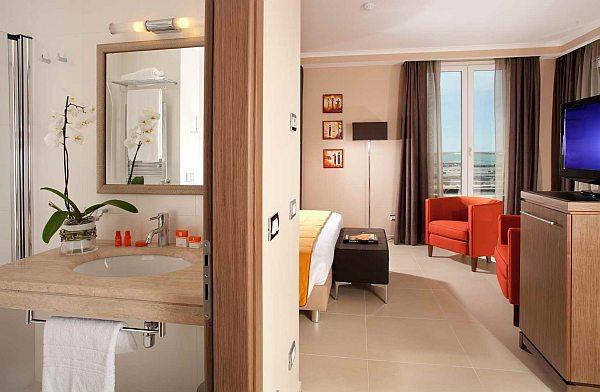 Hotel Tiber 4 csillagos luxus szoba
