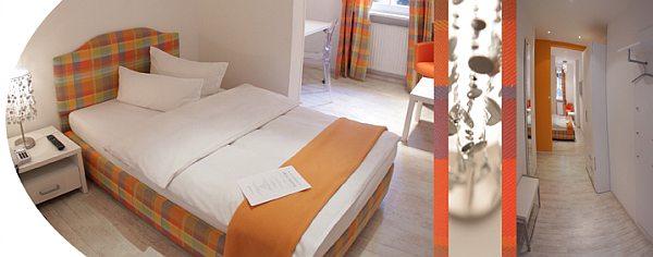 Werners Hotel - modern szálloda szoba