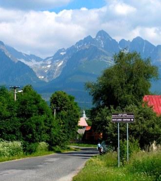 A Tátra hegyei