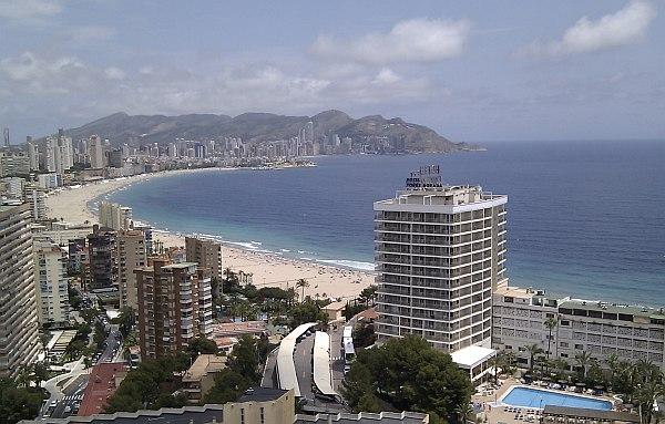 Valencia tengerpartja, strandok
