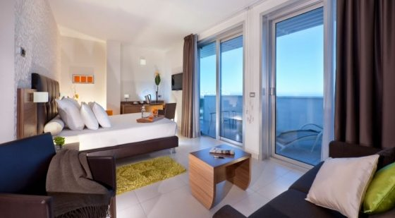 Aqua Hotel - suite Riminiben