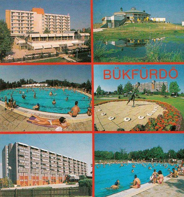 Bükfürdő régi képeslap