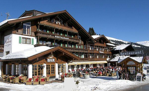Viehhofen Hotel Alpenrose Hause