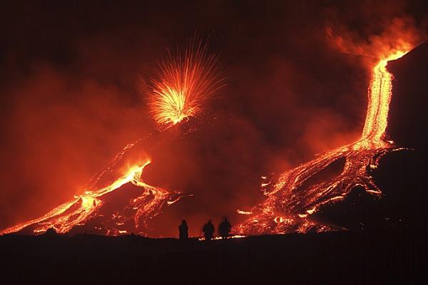 Etna vulkánkitörés