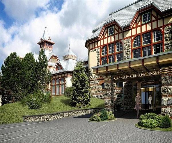 Csorbató Grand Hotel Kempinski High Tatras