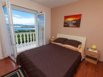 Apartments Villa Americana szoba kilátással