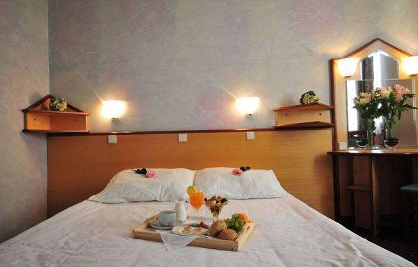 Hotel Park reggeli az ágyban
