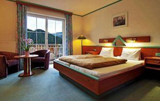Hotel Berghof Brunner szoba és kilátás