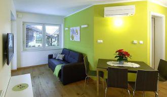 Apartments & Wellness Skok szoba