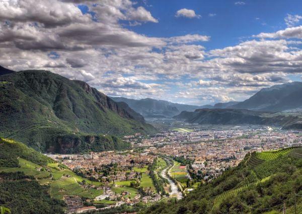 Bolzano profi Panoráma fotó