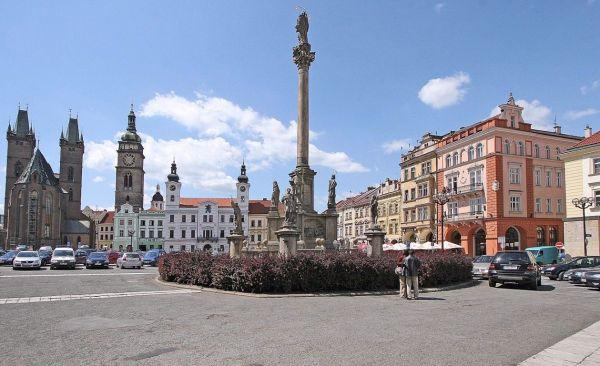 Hradec Králové főtér