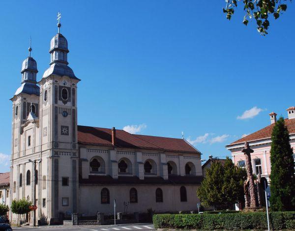 Odorheiu Secuiesc székelyudvarhelyi katedrális templom