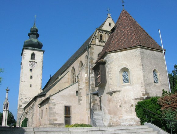 Basilika Lauriacum templom