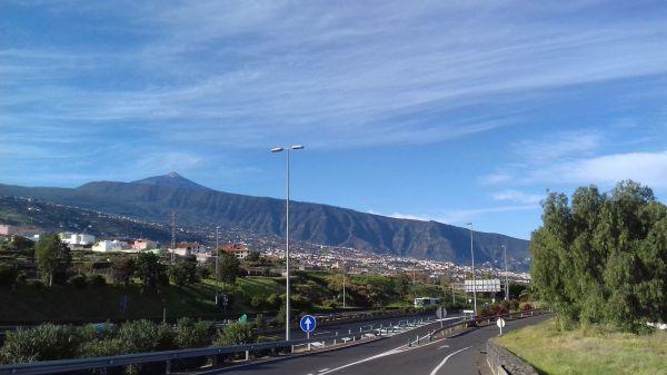 Tenerife Észak Teide a háttérben