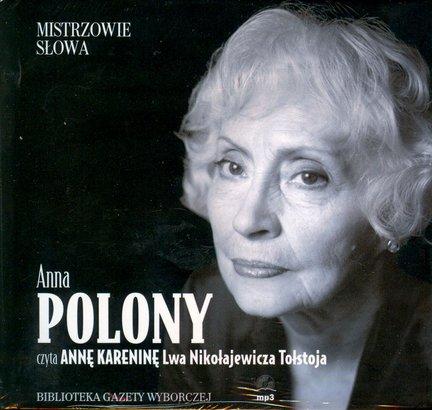 Anna Karenina, Anna Polony audiobook