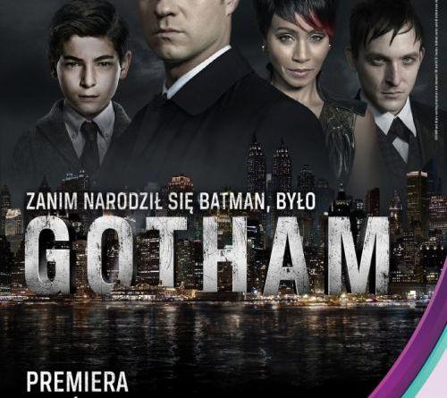 Gotham polski plakat