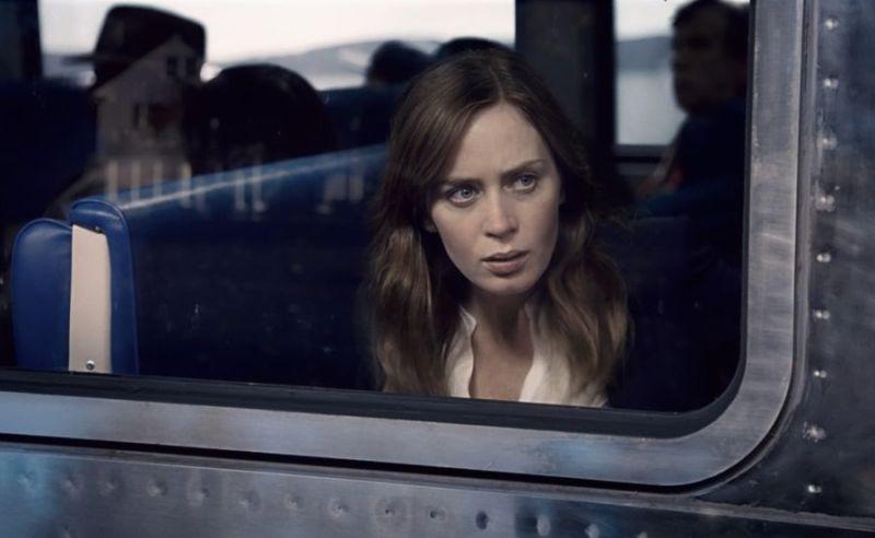 Emily Blunt jako tytułowa dziewczyna z pociągu, czyli Rachel