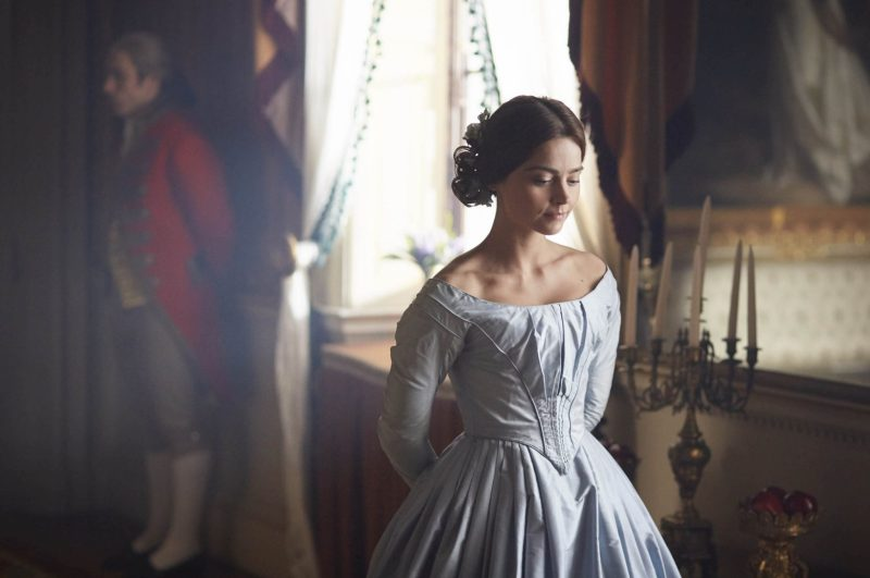 Credit: Photo by ITV/REX/Shutterstock (5824892c) Jenna Coleman as Victoria 'Victoria' TV show - 2016