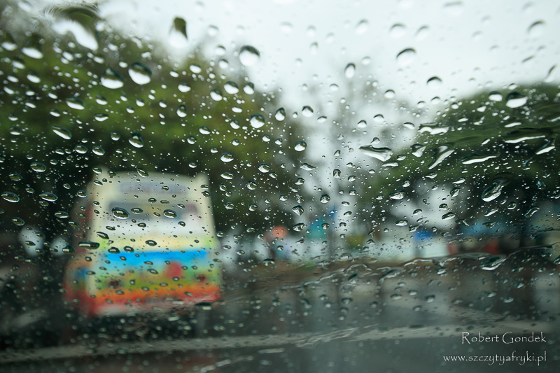 Deszczowy dzień na Mauritiusie