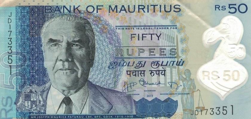 Pieniądze na Mauritiusie