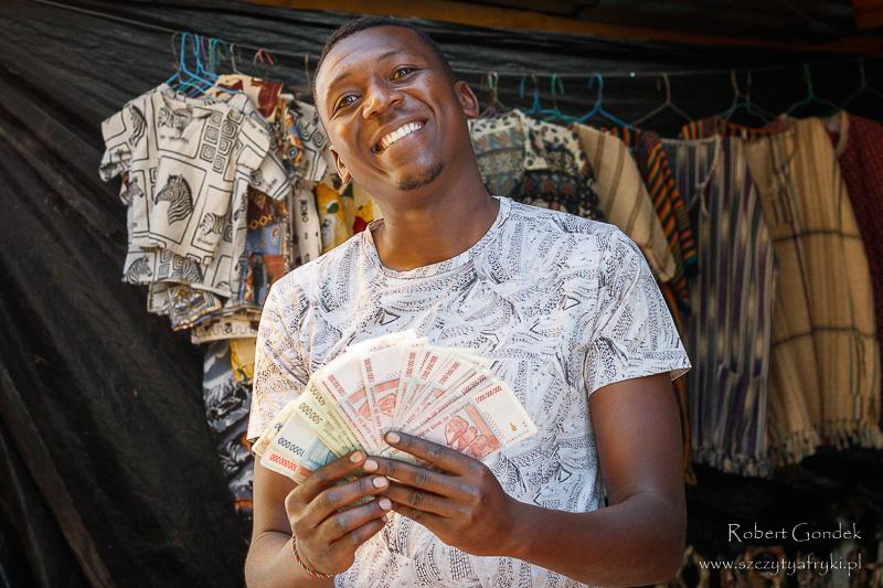 Dolary Zimbabwe w sprzedaży