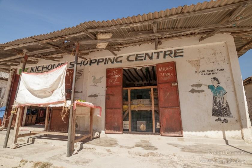 """""""Centrum handlowe"""" w Jambiani na Zanzibarze"""