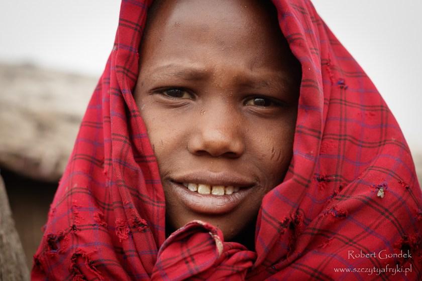 Portret Masajki