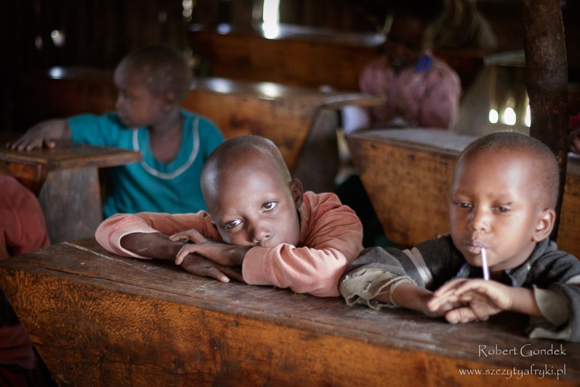 W masajskiej szkole