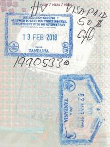 Wiza do Tanzanii