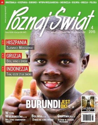 Okładka magazynu Poznaj Świat