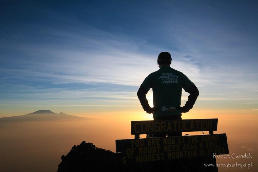 Mount Meru - druga pod względem wysokości góra w Tanzanii