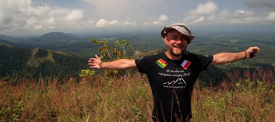 Ghana - Mount Aduadu w 2018 roku