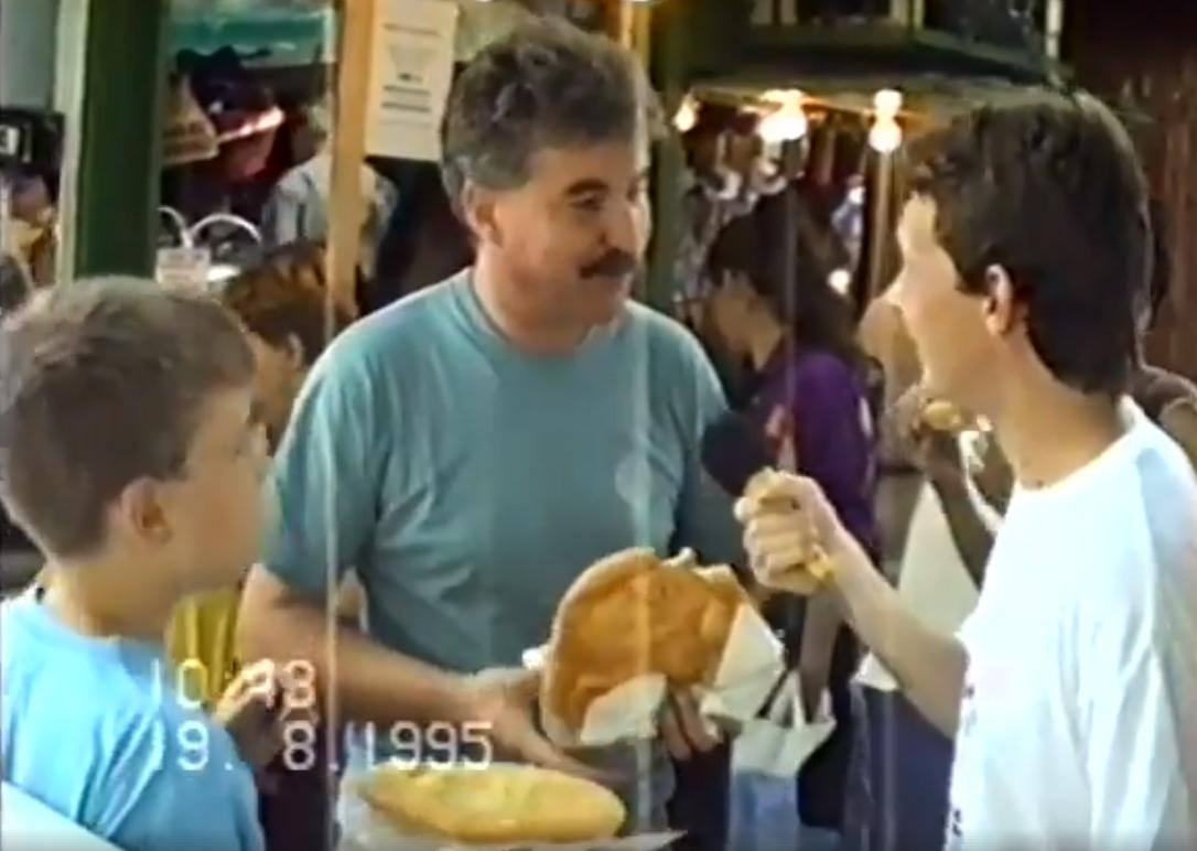 lángos mars tér 1995